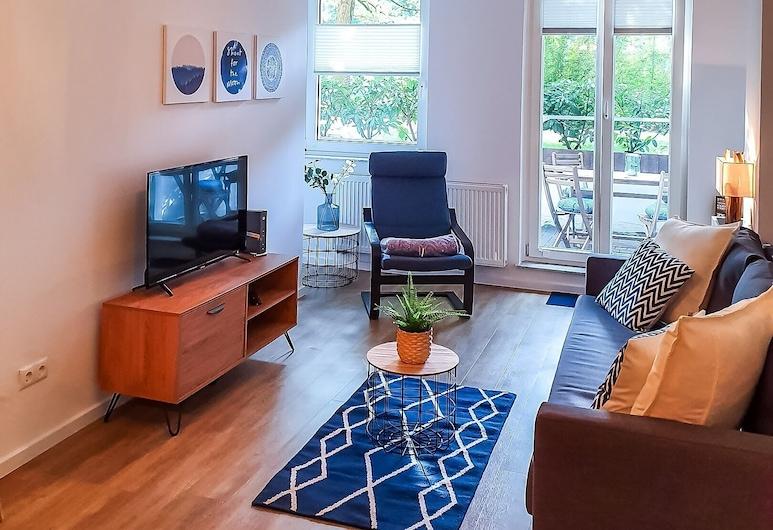 City Park Flair, Bremen, Apartamento estándar, Sala de estar