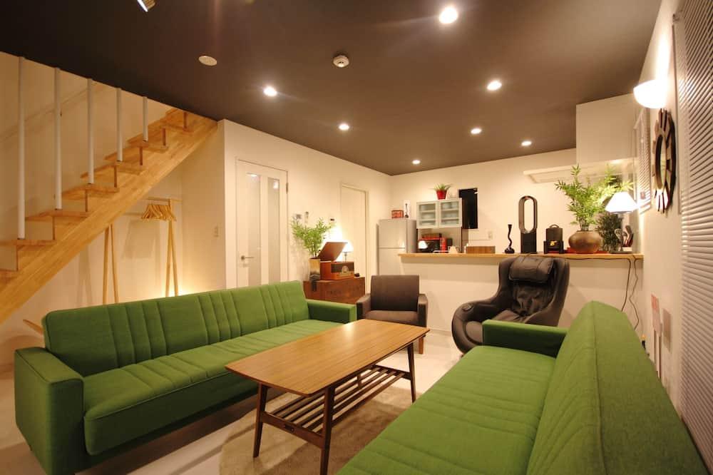 Villa - 4 sovrum - Vardagsrum