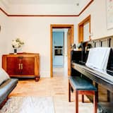 Házikó, 2 hálószobával - Nappali rész