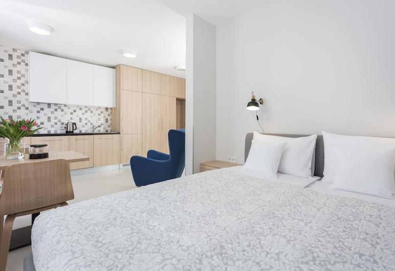 Concept House by goodhome, Krakow, Studio Suite Comfort (Zablocie - 104), Area Keluarga