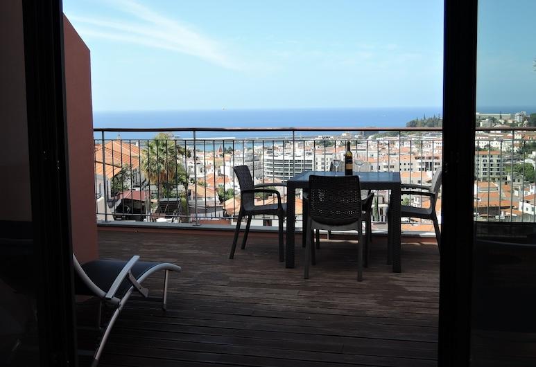聖塔露易莎豐沙爾景觀飯店, 芳夏爾, 奢華公寓, 2 間臥室, 陽台