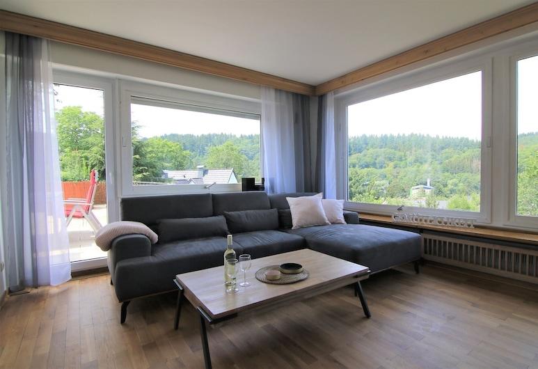 Ferienhaus Paulus, Шляйден, Апартаменти (Talblick 5*), Вітальня