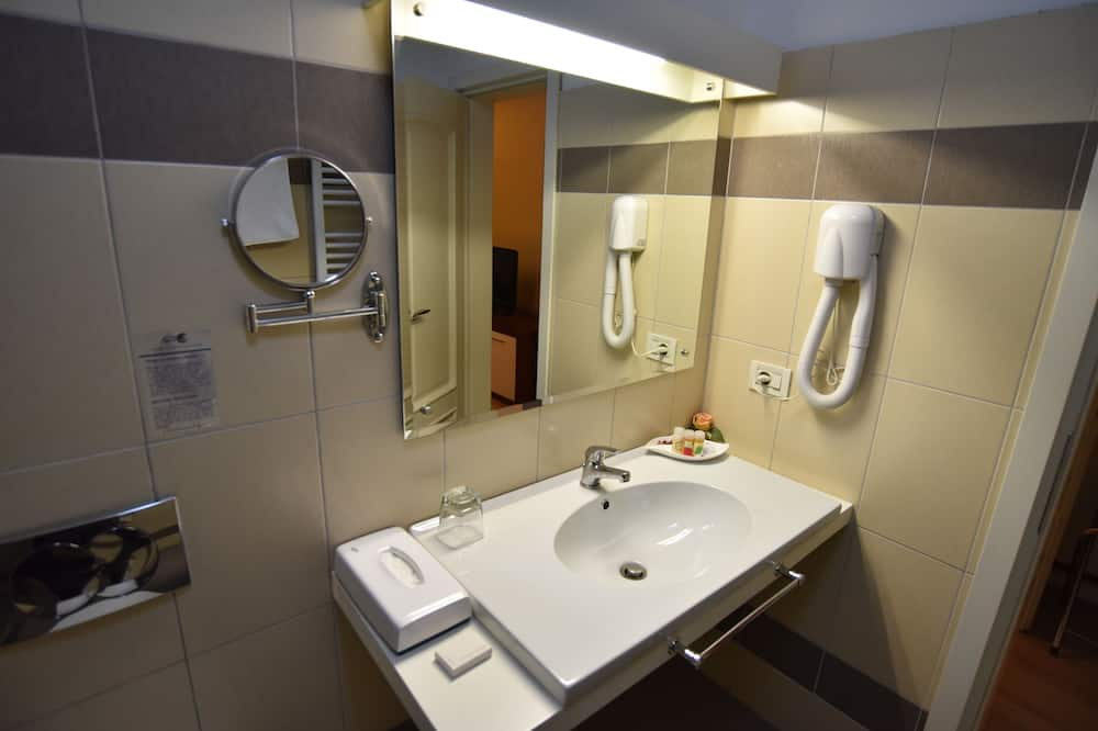 高級雙人房單人入住 - 浴室