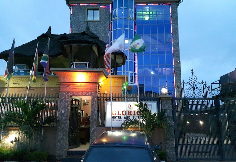 Glorious HotelL & Suites Ltd, Lagos, Hotel Front