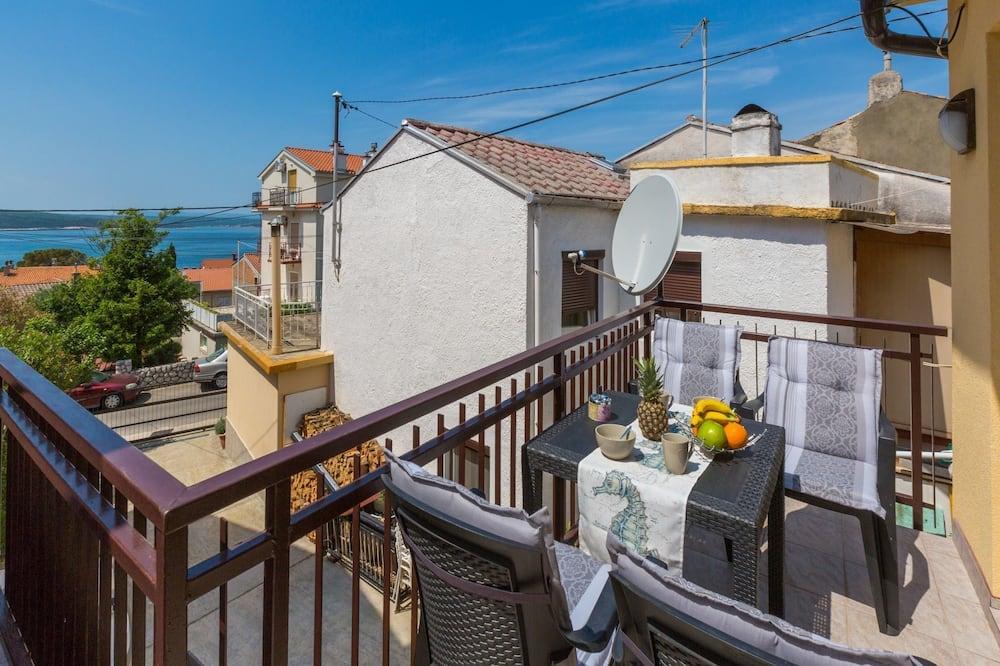 Apartamentai (A1) - Balkonas