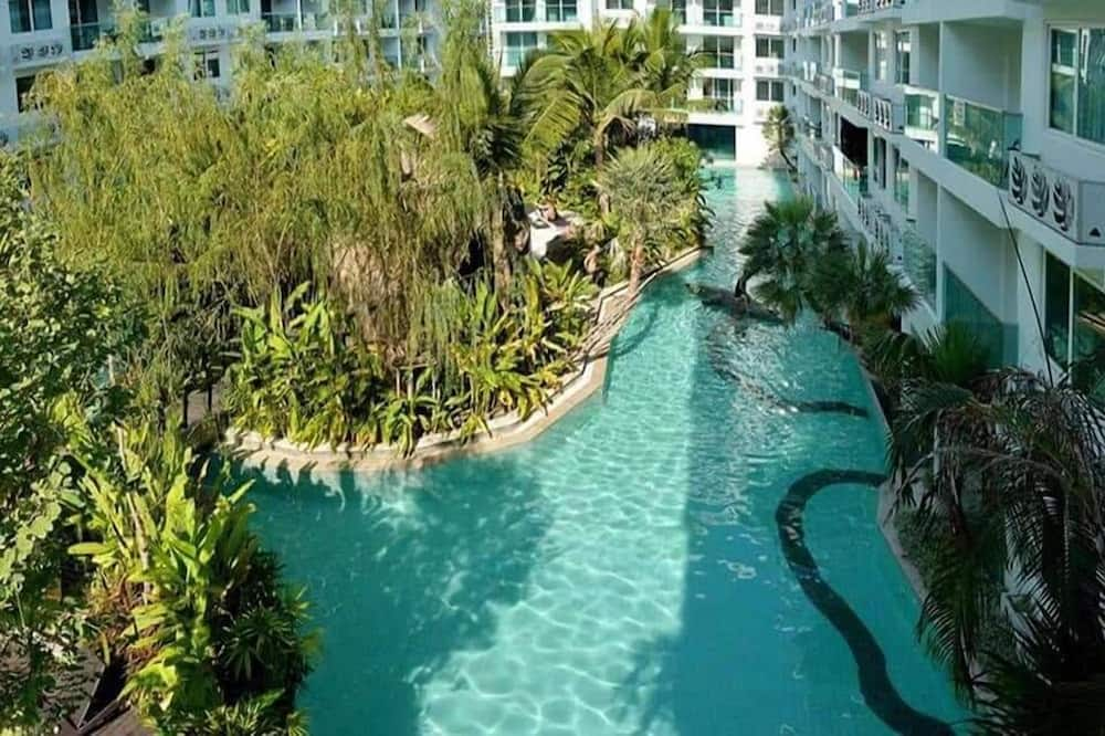 One Bedroom Apartment with Garden View - Imej Utama