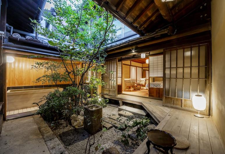 Shiomachi Hotel -Roya-, Fukuyama, Zimmer, Nichtraucher (JP Western,Partially-open-air Bath,1F), Zimmer