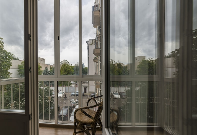Home Apart 3, Minsk, Comfort-Apartment, Balkon