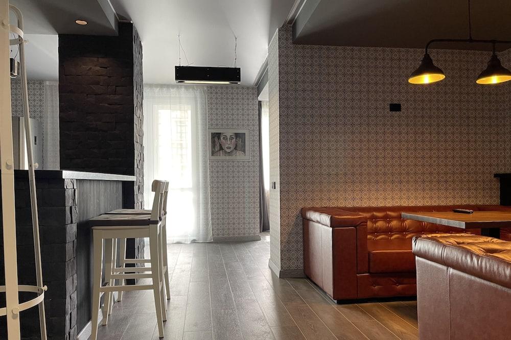 Štúdio typu City - Obývacie priestory