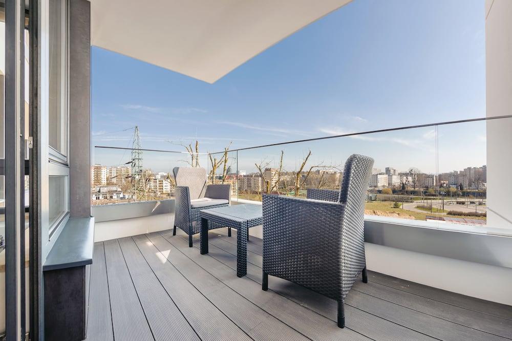 Apartament, częściowy widok na morze (Bydgoska 9/45) - Balkon