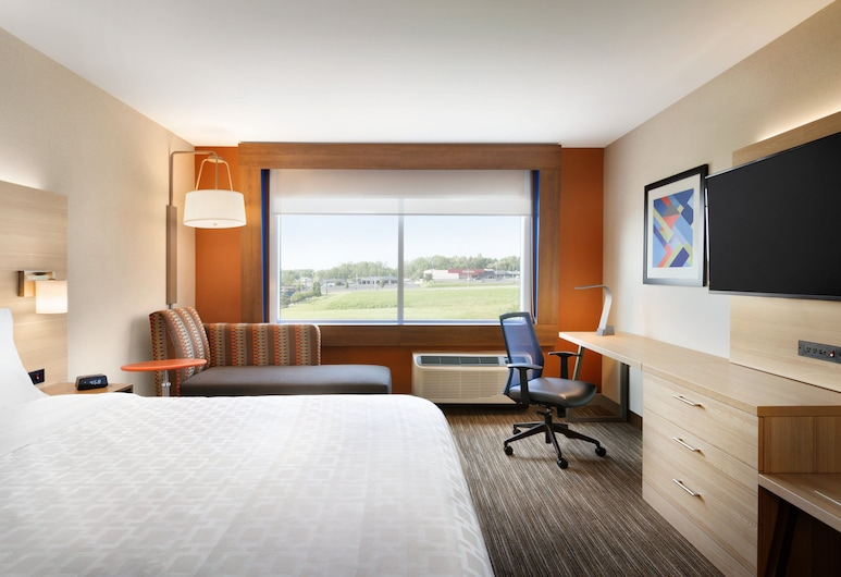 Holiday Inn Express & Suites Jersey City - Holland Tunnel, Jersey City, Chambre Standard, 1 très grand lit, non-fumeurs, Chambre
