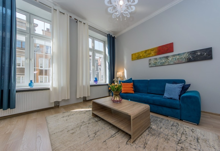 BillBerry Apartments - Apartament Ogarna , Gdansk, Apartment, Living Room
