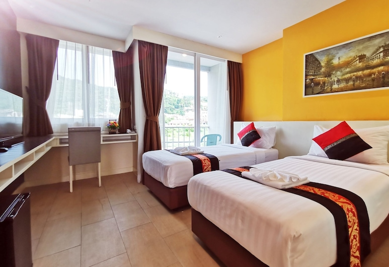 Paksaa Boutique Hotel Patong Phuket, Patong, Deluxe Twin Room, Guest Room