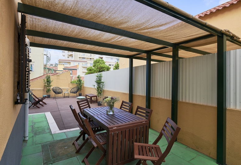 Spacious and Renovated Apartment With Amazing Patio, By TimeCooler, Λισσαβώνα, Διαμέρισμα, 2 Υπνοδωμάτια, Αίθριο/βεράντα