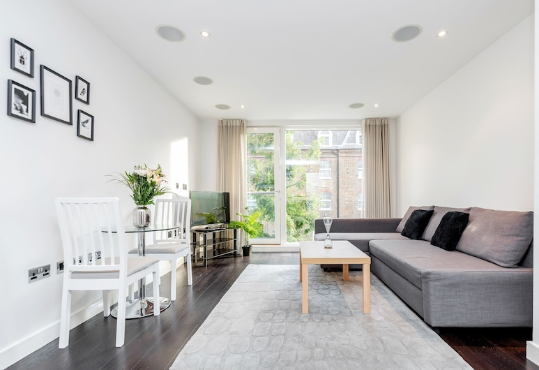 Gatliff Road Apartments, Londýn, Apartmán, Obývací pokoj