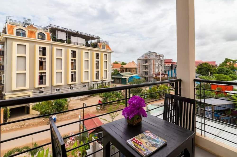 Obiteljska četverokrevetna soba - Pogled s balkona