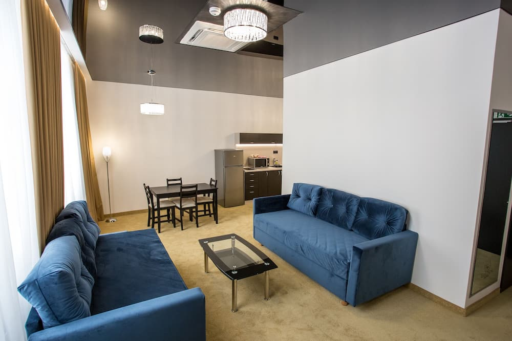Apartment (Silver) - Living Area