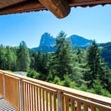 Kalnu mītne, divas guļamistabas, terase - Balkons