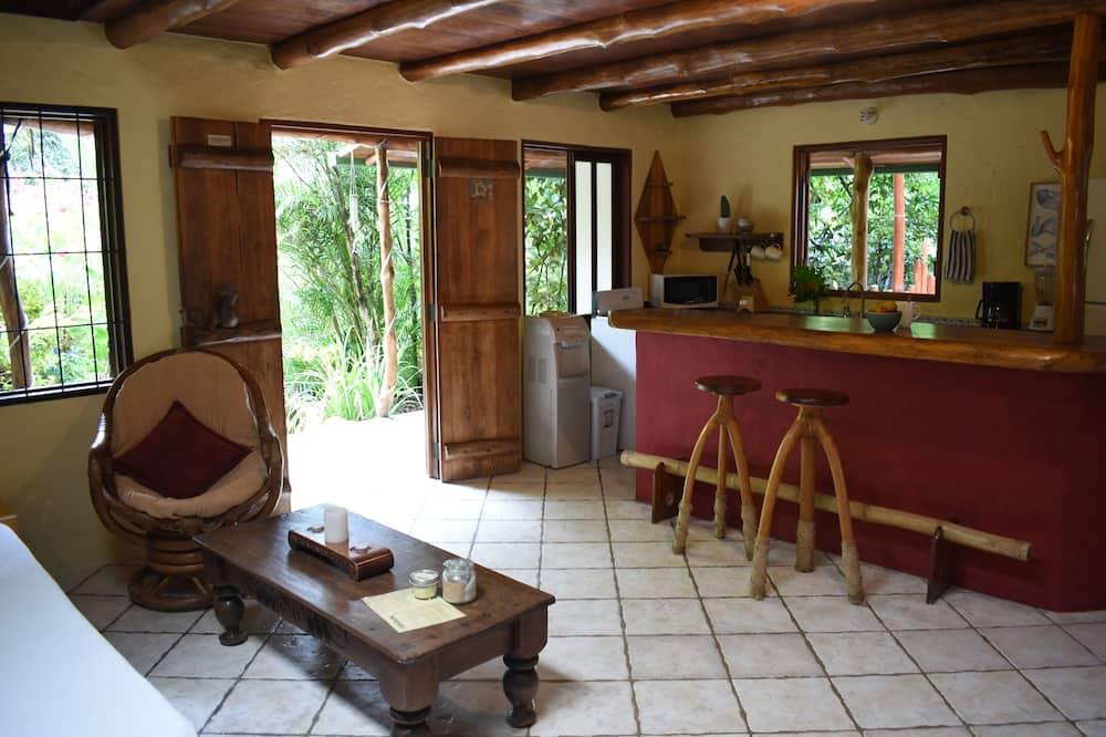 Traditional House, Balcony, Garden View - Living Area