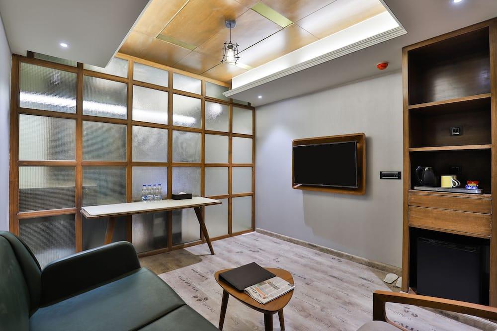 Suite estudio de lujo - Zona de estar