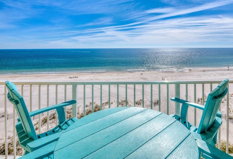 Clearwater by Bender Vacation Rentals, Gulf Shores, Apartamento em Condomínio Fechado, 1 Quarto, Vista Praia, Varanda