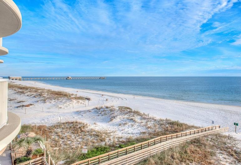 رويال بالمز باي ويندام فاكيشن رينتالز, جلف شورز, شقة - غرفة نوم واحدة - منظر للشاطئ, الشاطئ