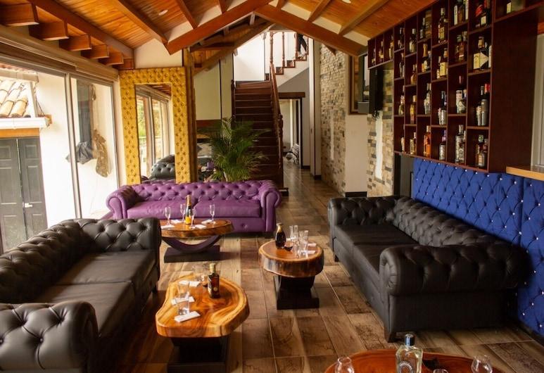 هوتل مونت بلانك, بوجوتا, منطقة الجلوس في الردهة