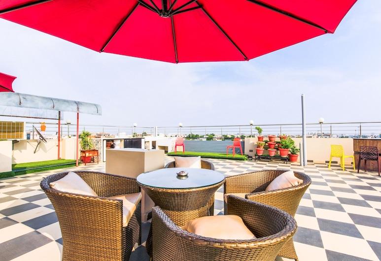 FabHotel Prime SR 1, Jaipur, Área para refeição ao ar livre