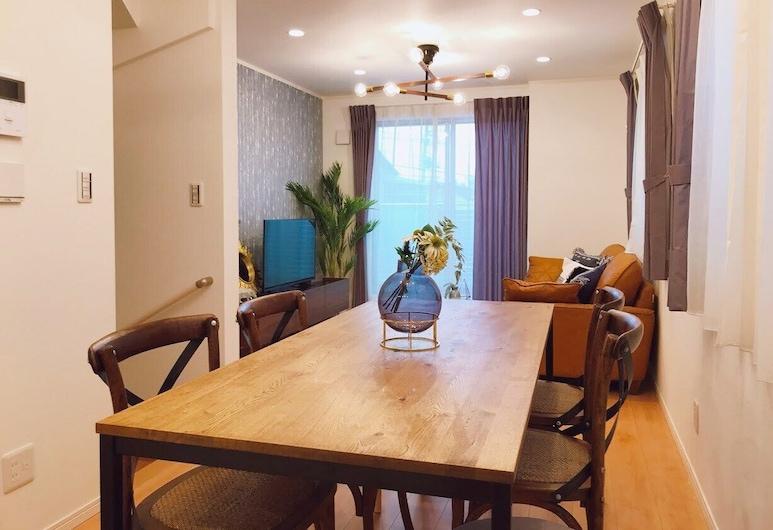 Etranger Kaname Cho, Tokyo, Three-Bedroom Apartment, Living Area