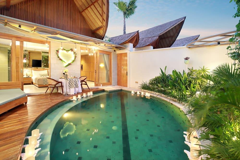 別墅, 1 間臥室 (with Private Pool and Jacuzzi) - 游泳池