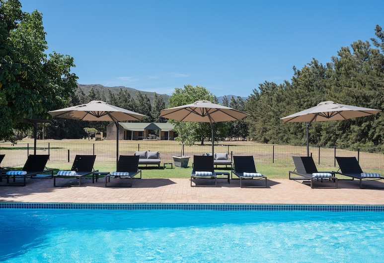 Lynx Wine Estate, Franschhoek, Outdoor Pool