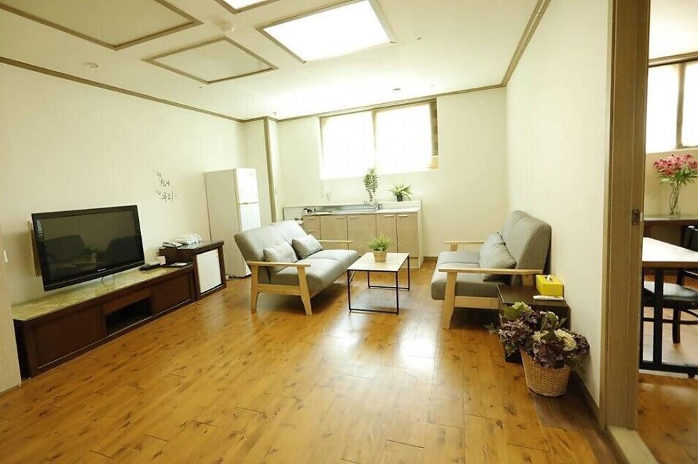 Deluxe szoba, 1 hálószobával - Nappali rész