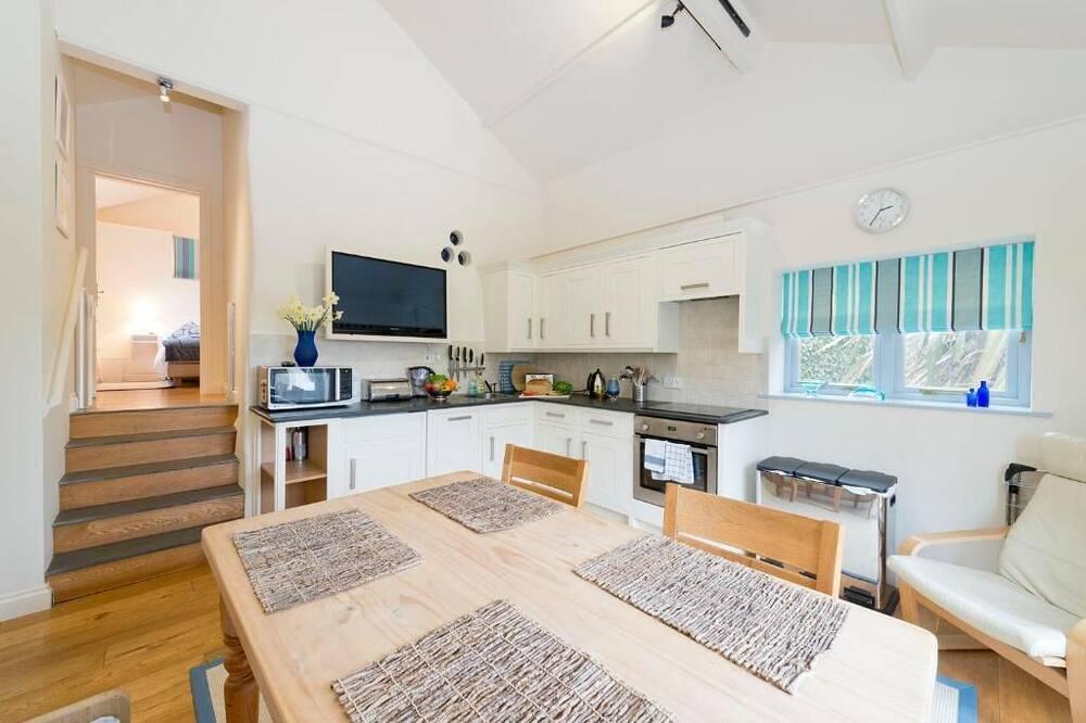 Kotedža, divas guļamistabas - Dzīvojamā zona