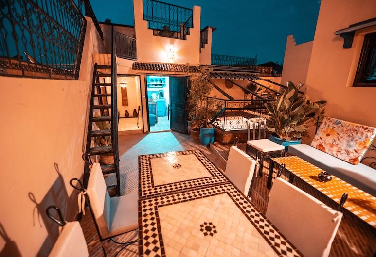 Riad Eva, Marrakech, Terasz/udvar