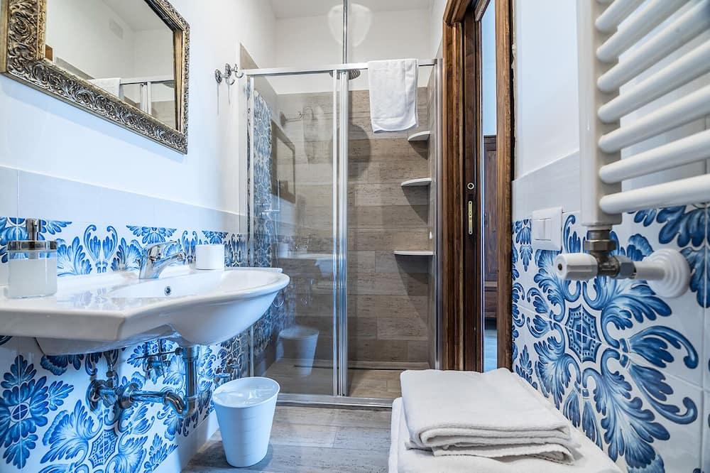 Triple Room, Garden View (Ortensia) - Bathroom