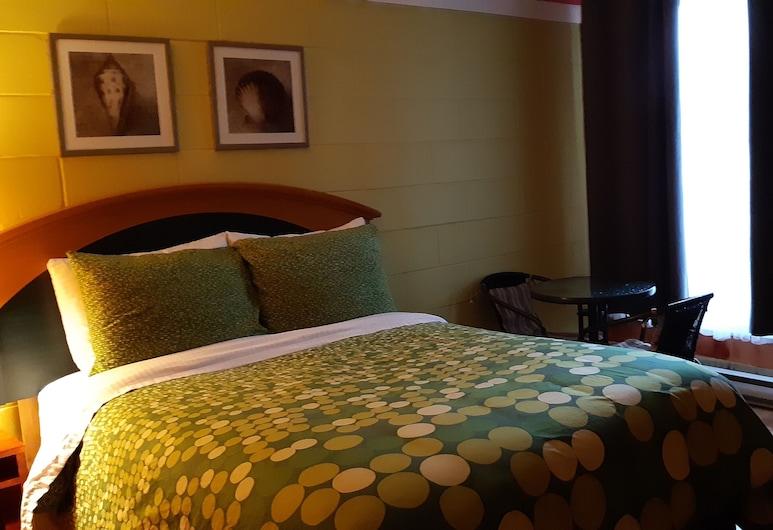 Pine Grove Motel, Sault Ste. Marie, Habitación básica, 1 cama Queen size, baño privado, Habitación