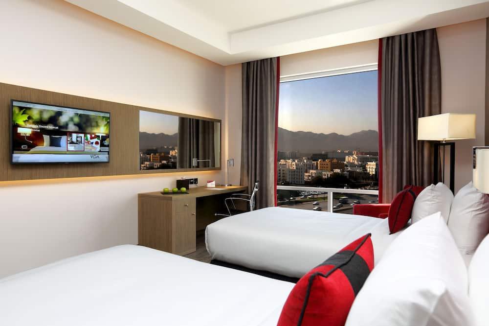 ห้องดีลักซ์, เตียงเดี่ยว 2 เตียง - วิวภูเขา