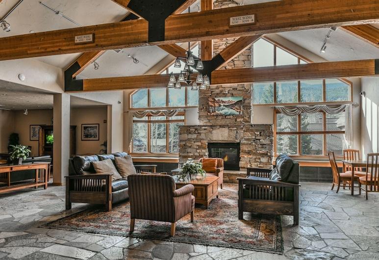 Gateway Lodge 5033, Keystone, Byt, 1 veľké dvojlôžko (Gateway Lodge 5033), Obývačka