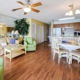 Soukromý byt, 1 ložnice - Obývací pokoj