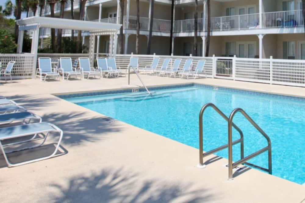 公寓式客房, 2 间卧室 - 游泳池