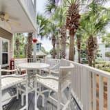 Talo, 2 makuuhuonetta - Parveke