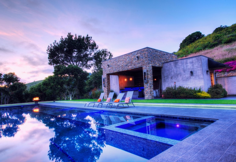 Lx1a Luxury Contemporary Villa IN THE Middle OF Nature With LAR, Carmel, Villa, Mehrere Betten (LX1A LUXURY CONTEMPORARY VILLA IN THE), Pool