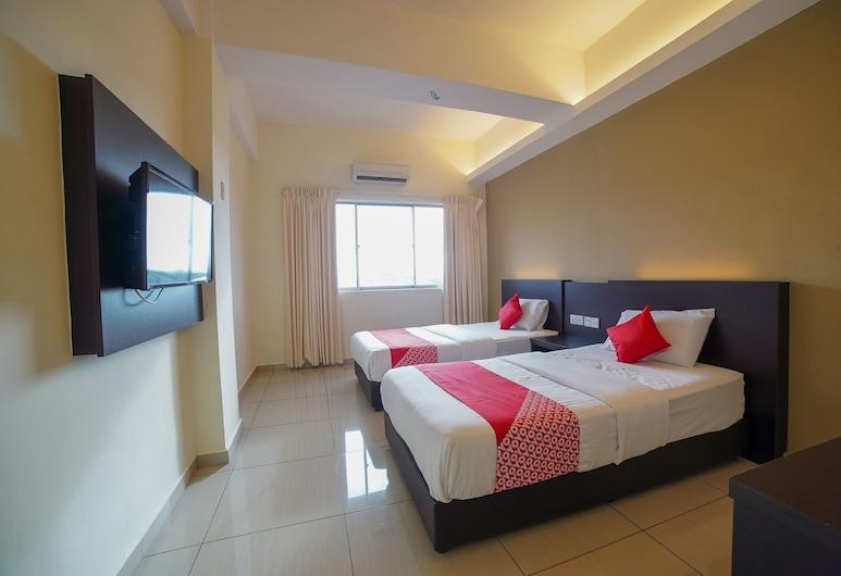 OYO 89531 Villa Hotel, Segamat, Deluxe-Zweibettzimmer, 2Einzelbetten, Zimmer