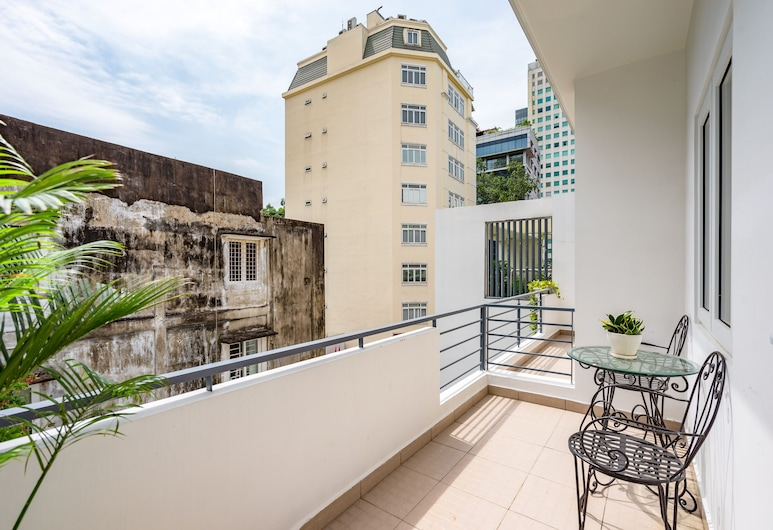 Saigon One Service Apartment, Πόλη του Χο Τσι Μινχ, Deluxe Διαμέρισμα, 1 Υπνοδωμάτιο, Μπαλκόνι
