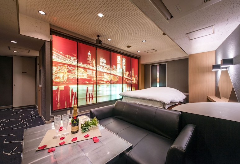 Hotel Papion Adult Only, Tokyo, Chambre