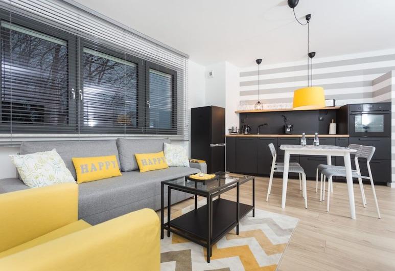 InPoint Podgórze Apartments , Kraków, Apartament typu Comfort, Salon