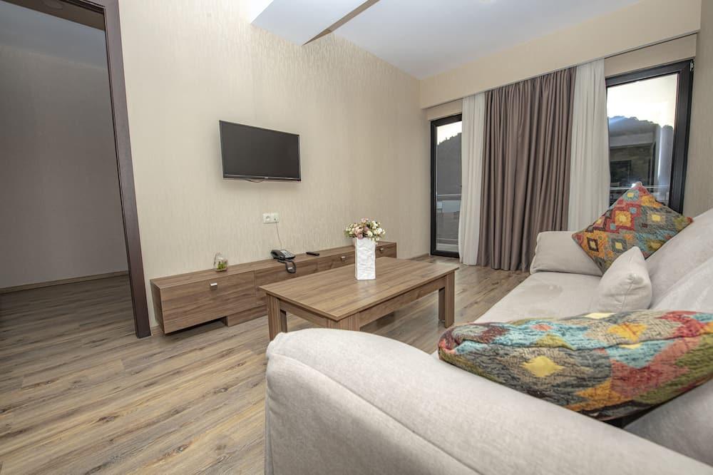 Junior-værelse - Opholdsområde
