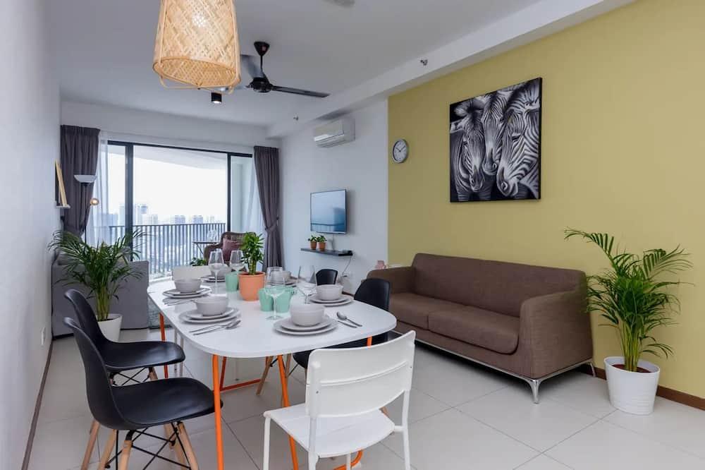 Apartment, 3 Bedrooms, Sea View (B) - Tempat Makan dalam Bilik