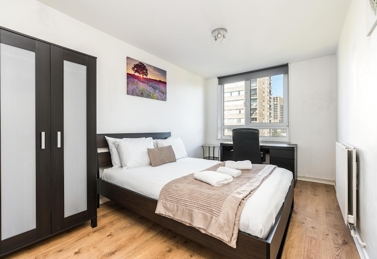 NEW Bright 2 Bedroom Flat Riverside Flat Woolwich, London, Apartment (2 Bedrooms), Zimmer