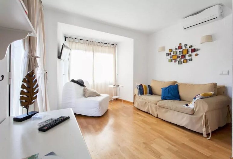 聖塔公寓飯店, Alicante, 公寓, 1 間臥室, 陽台, 客廳